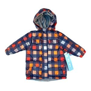 Wippette toddler boys insulated snow jacket